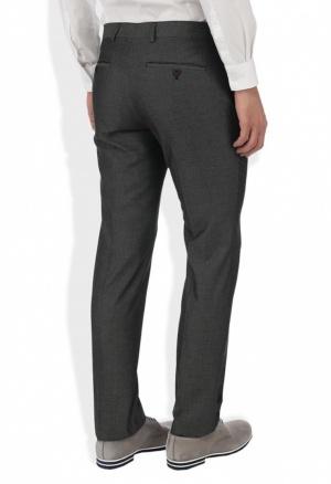 Классические мужские брюки, темно-серого цвета, на 46 (UK 32R EUR 81R) р., River Island, б/у 1раз