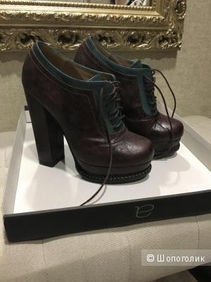 Ботинки Again & Again, кожаные, 37 EU
