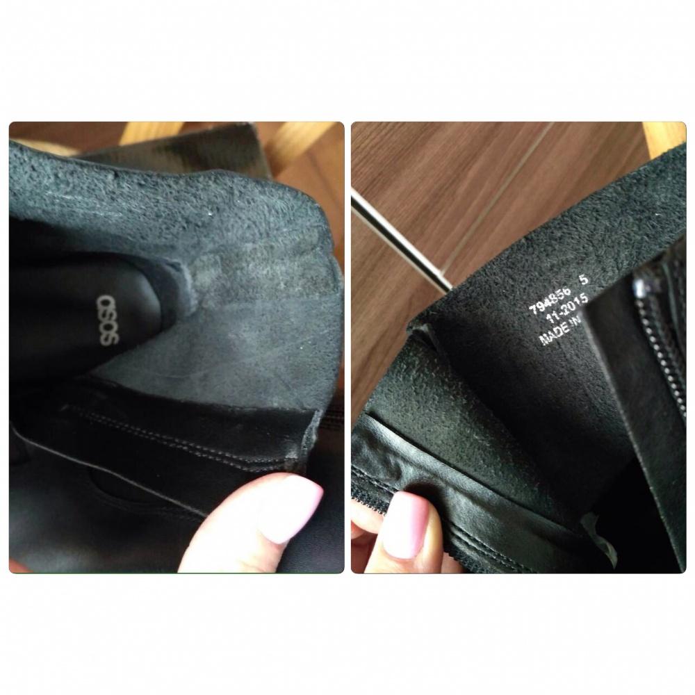 Кожаные ботинки челси ASOS ALOUD. Р-р UK 5 (37). Натуральная кожа.