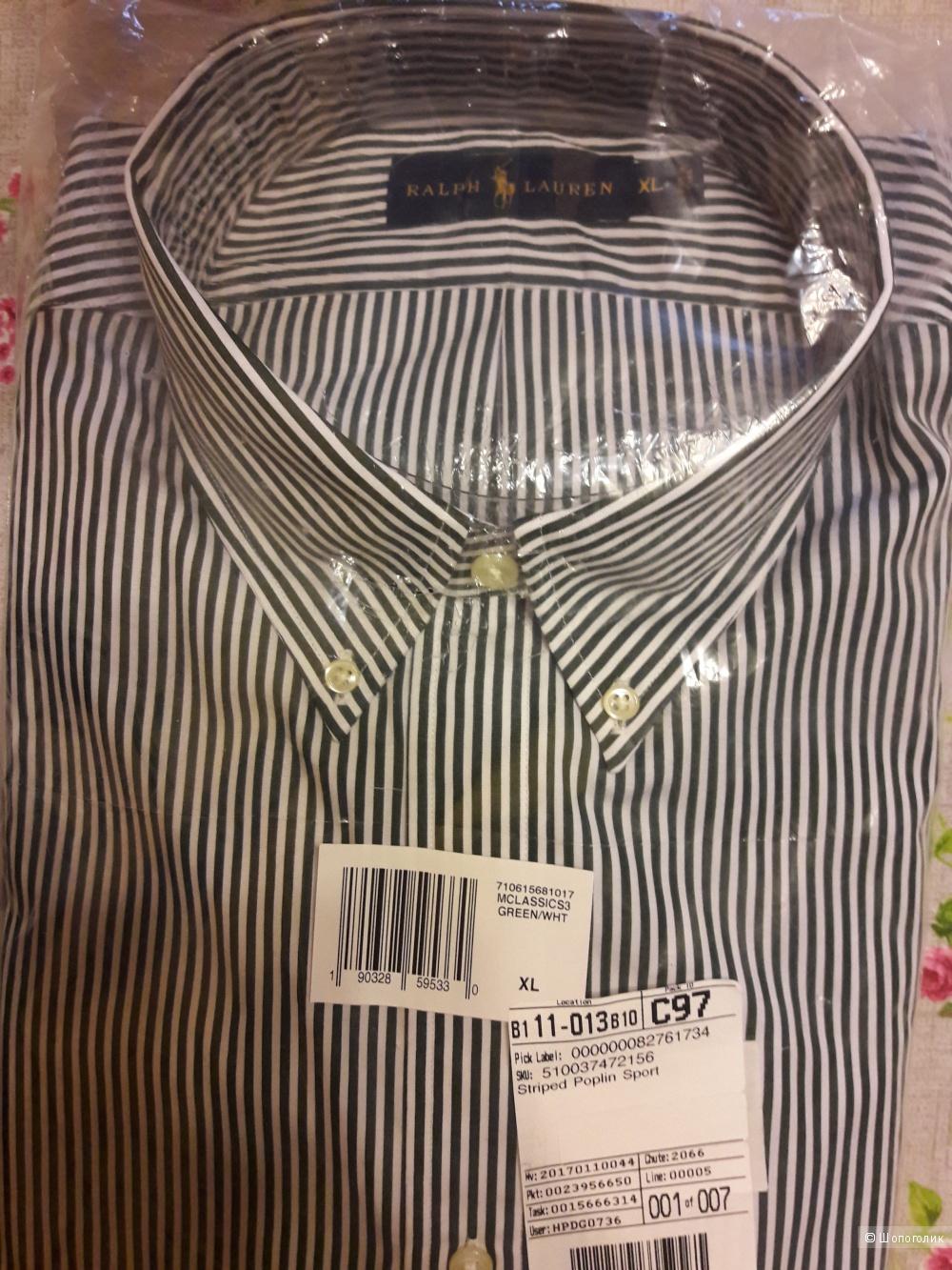 Мужская рубашка Ralph Lauren, XL, оригинал