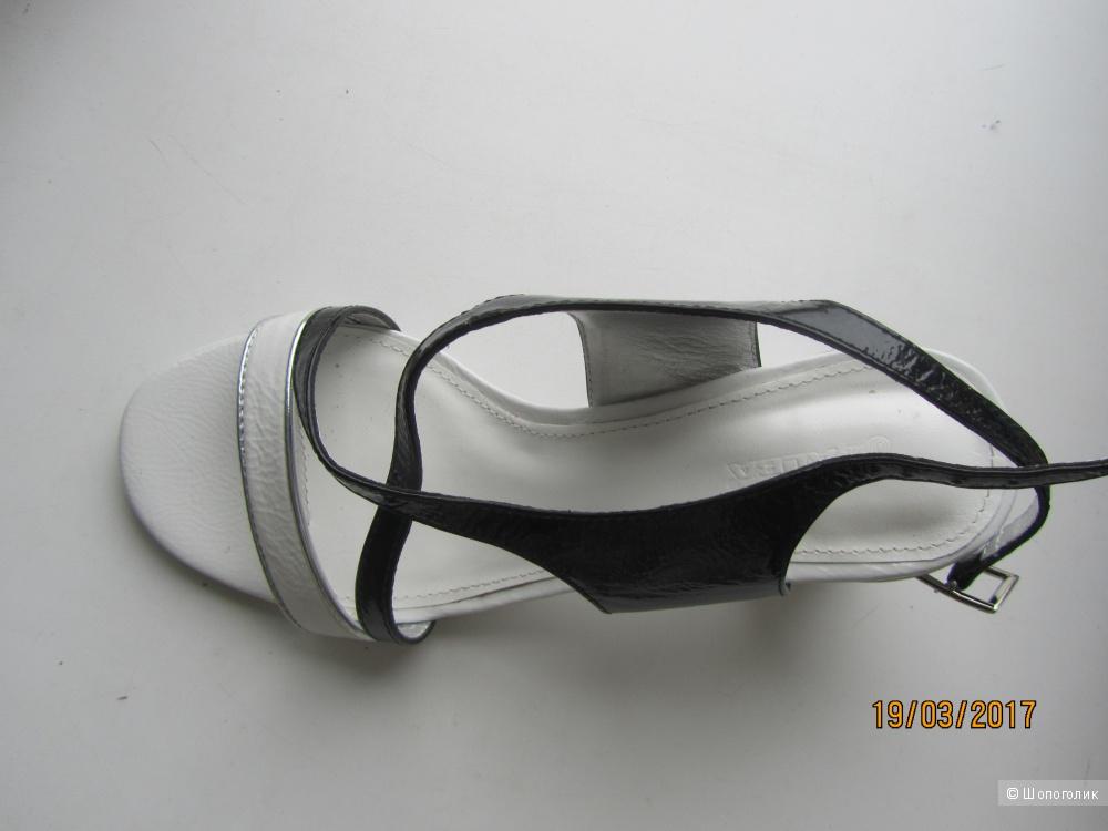 Новые кожаные босоножки ALBA на р.36-35.5