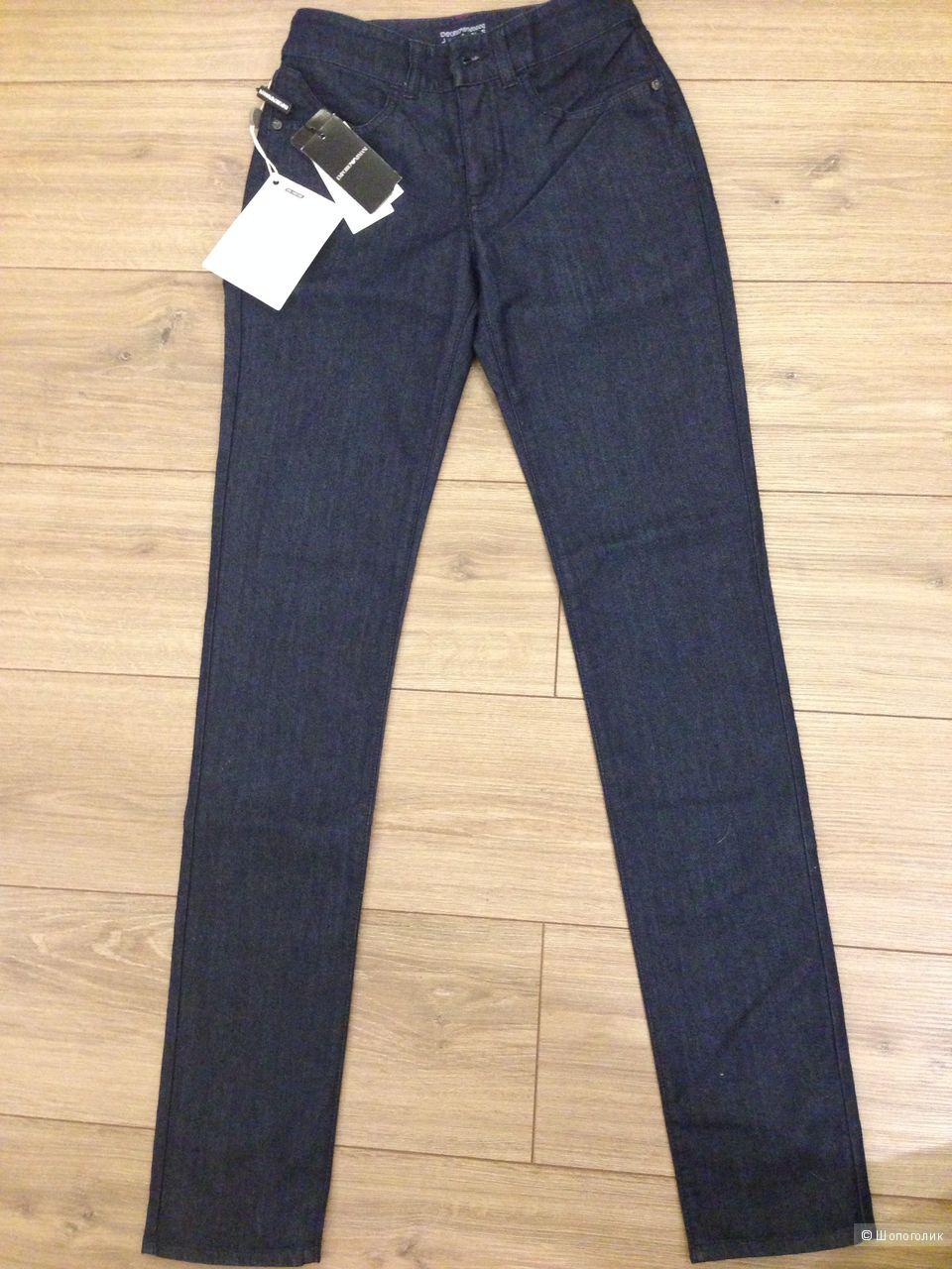 Синие джинсы EMPORIO ARMANI, 25 размер