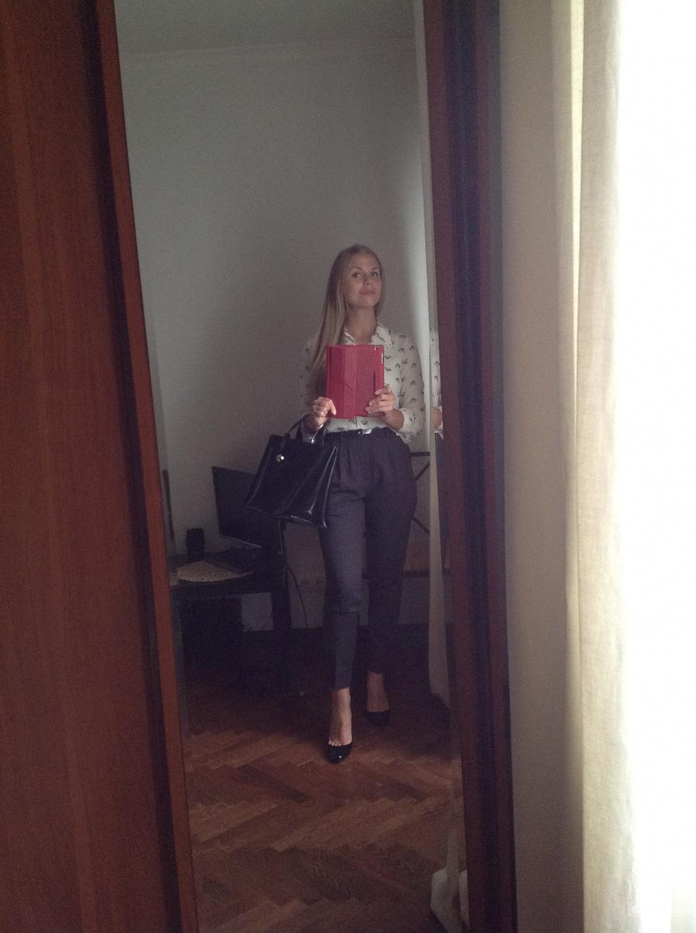 Zara Woman Брюки Шерсть