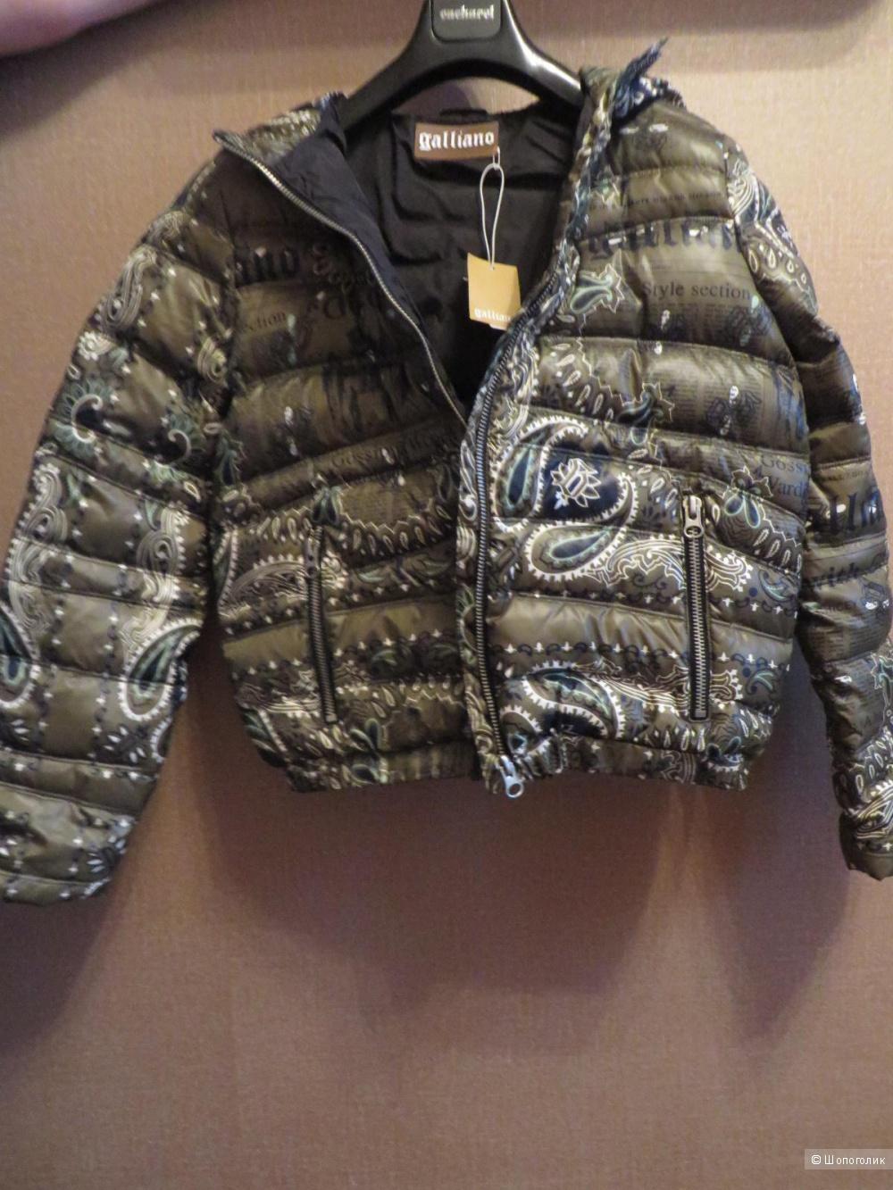Новая куртка Galliano. Оригинал. 44-46 размер