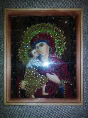 """Алмазная вышивка"" Богородица"