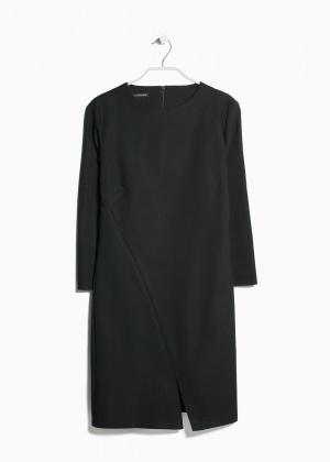 Черное платье mango S