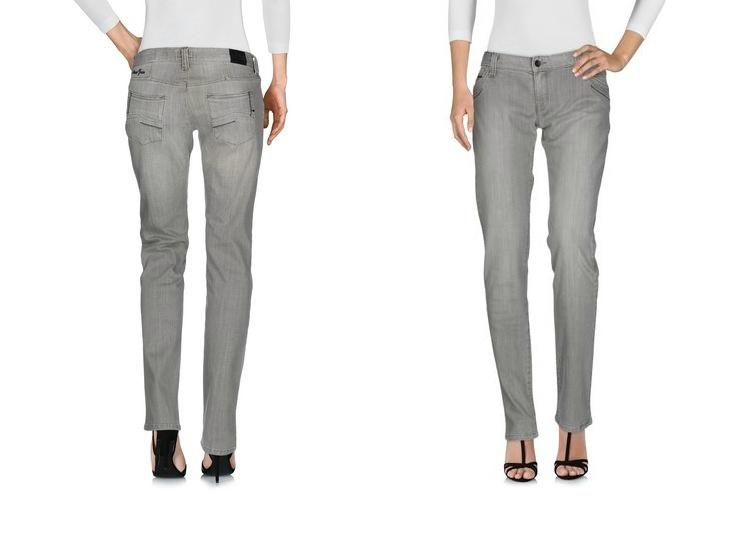 Светло- серые  джинсы Armani Jeans  р.31/34