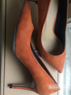Рыжие туфли asos uk5