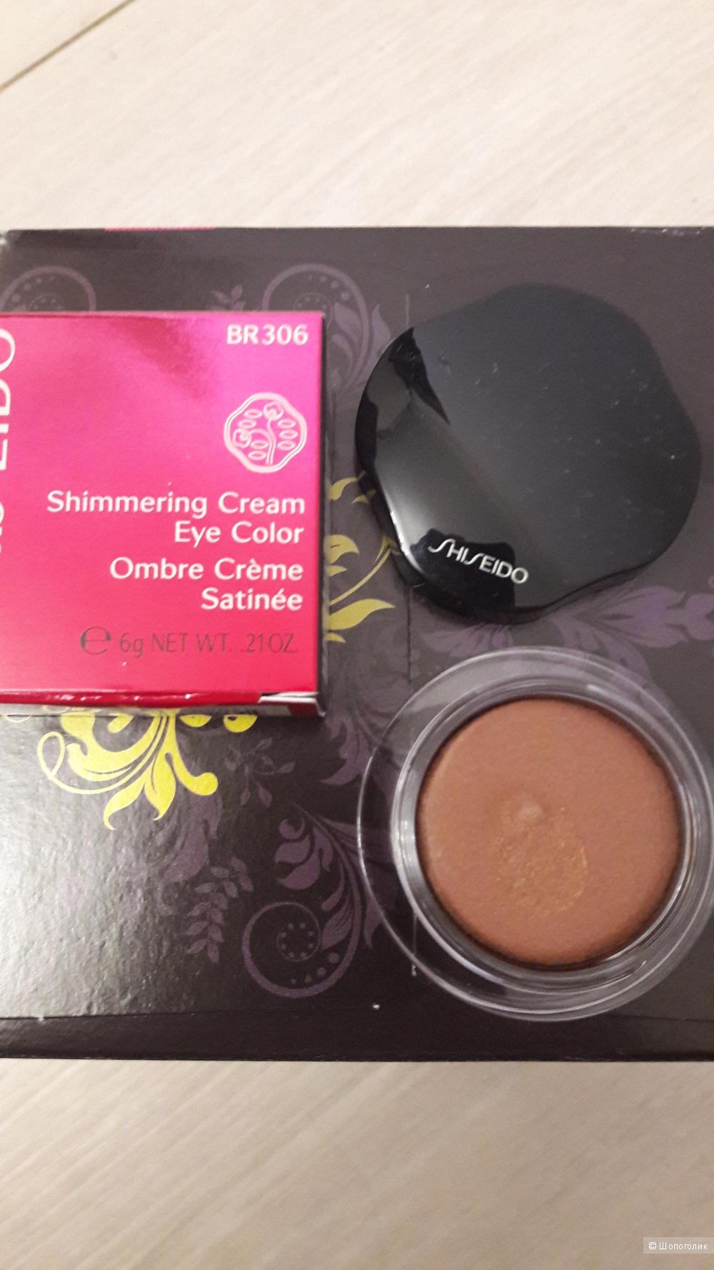 Тени кремовые Shiseido Makeup Shimmering Cream Eye Color Оттенок: BR306