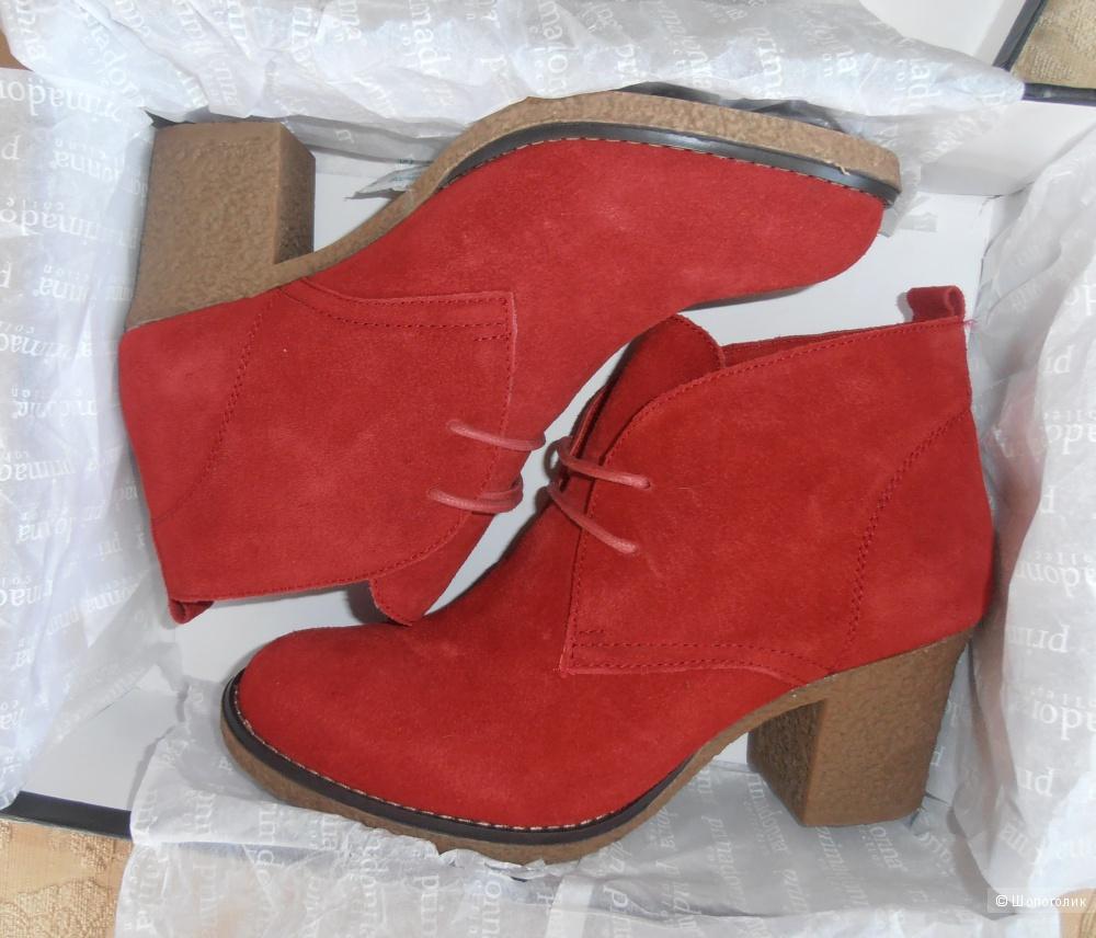 Продам замшевые ботинки дезерты PRIMADONNA , размер 38 (европейский).