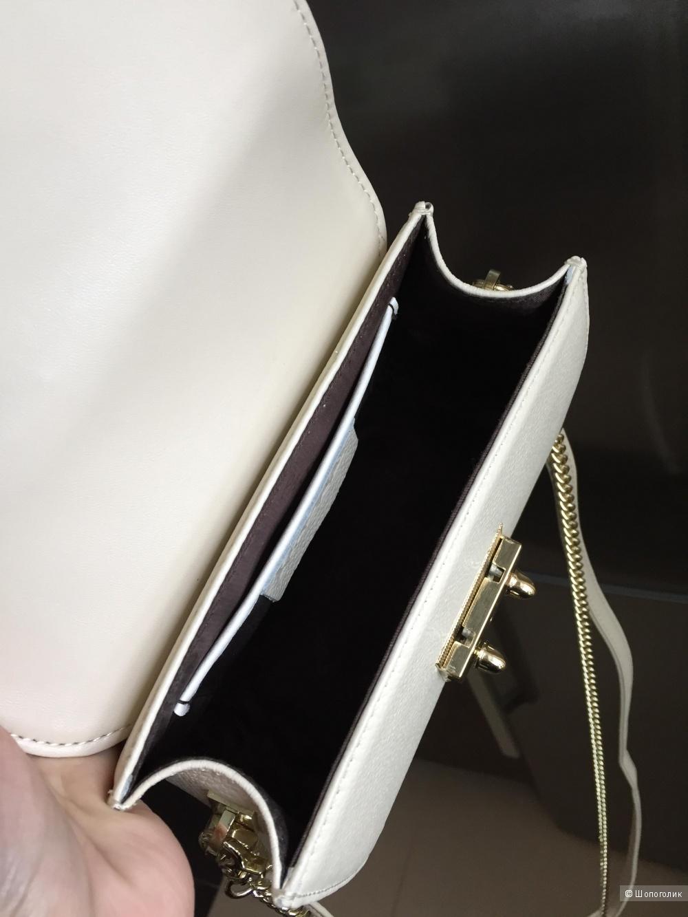Новая кожаная маленькая сумочка