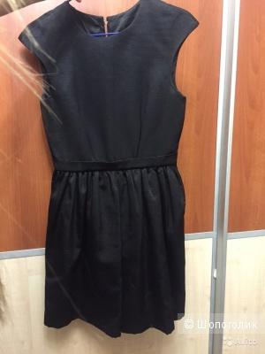 Черное платье Betrendy wear с пышной юбкой