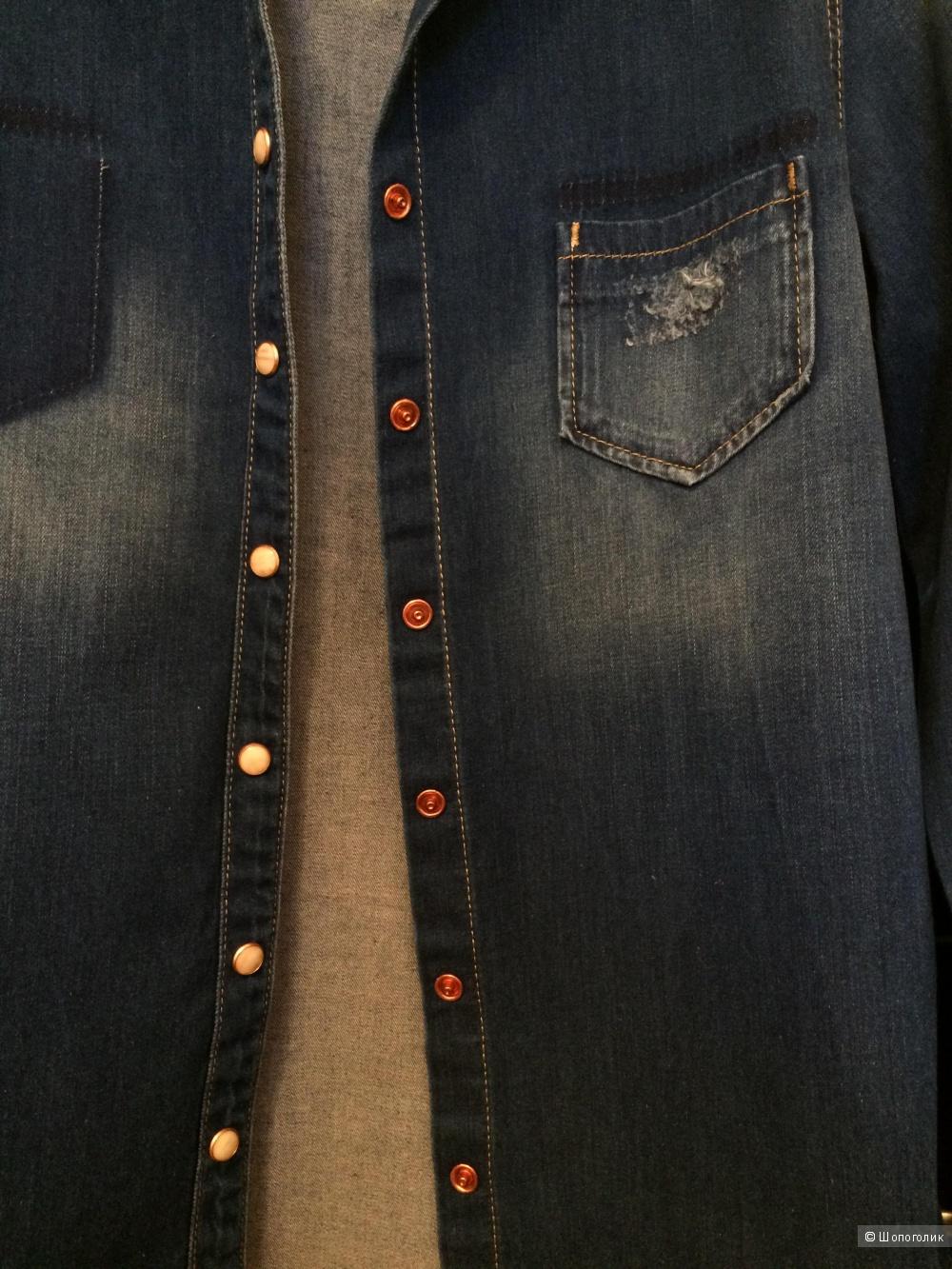 Джинсовая рубашка LTB, размер S, новая