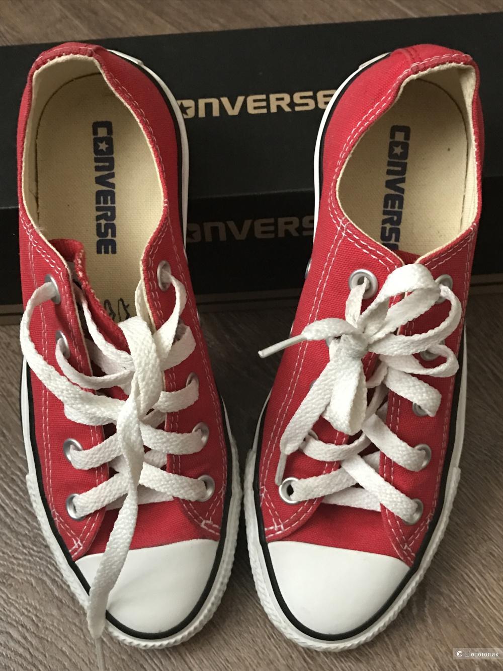 Кеды Converse EUR36, UK3,5, 23 см.