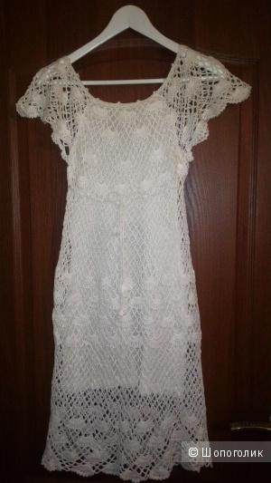 Платье вязаное, размер S