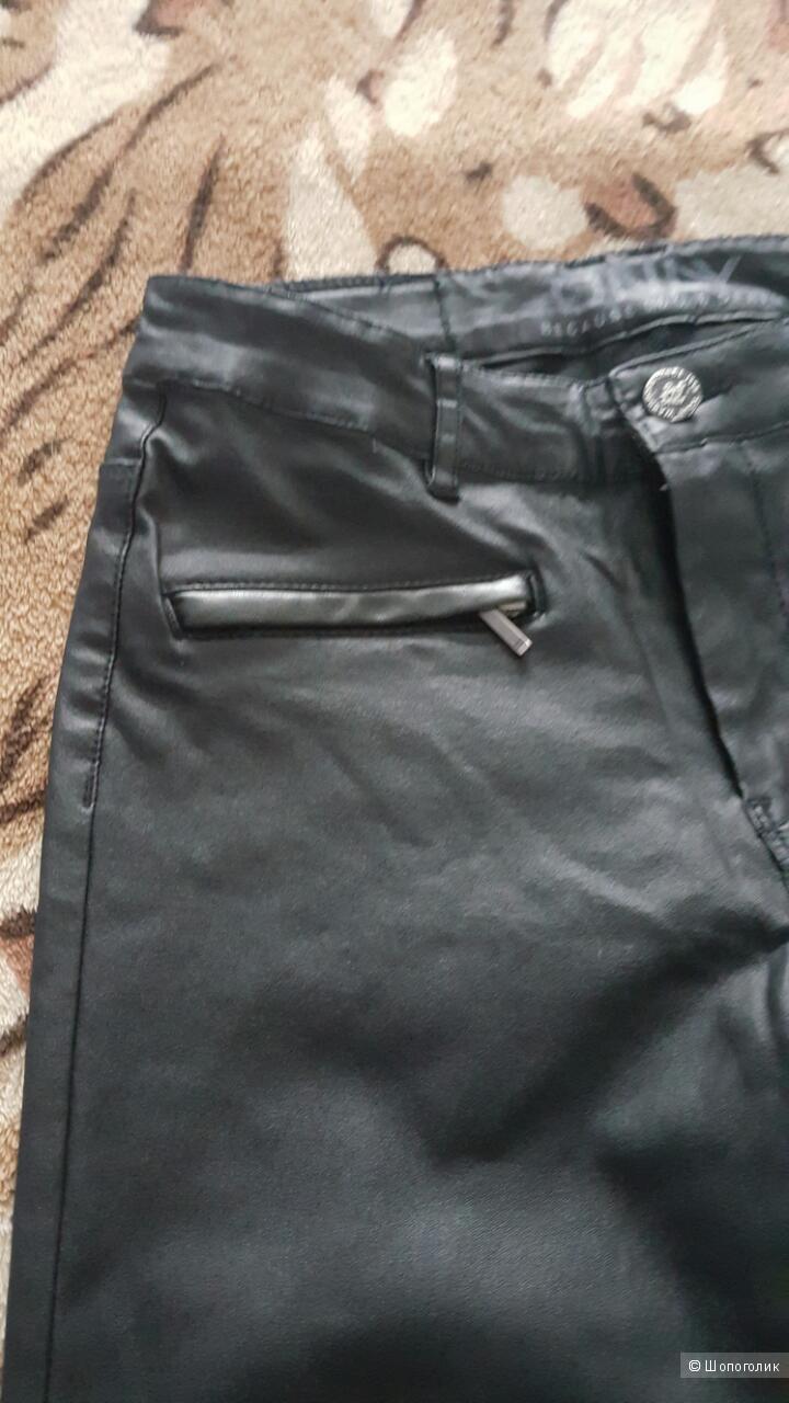 Штаны под кожу, размер М