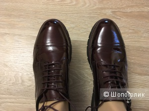 Женские ботинки Geox 41 размер, 273мм, цвет бургундия