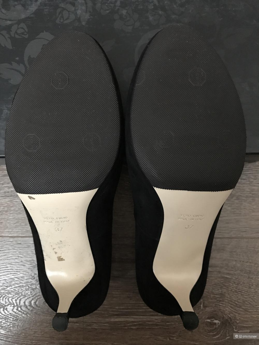 Туфли LORIBLU натуральная замша, р.36,5-37