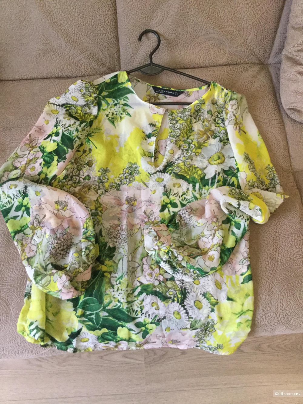 Блузка Zara women xs