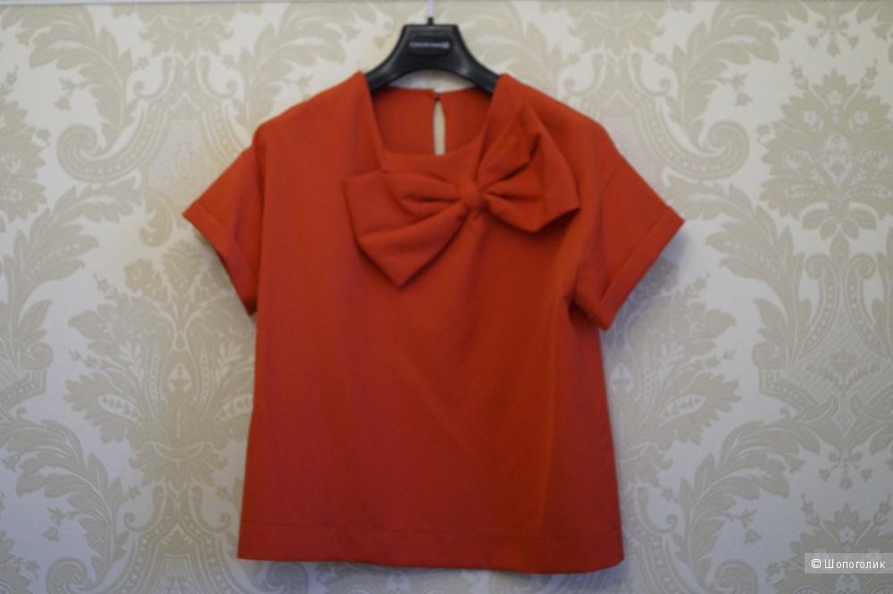 Блуза из крепа, размер 42-44