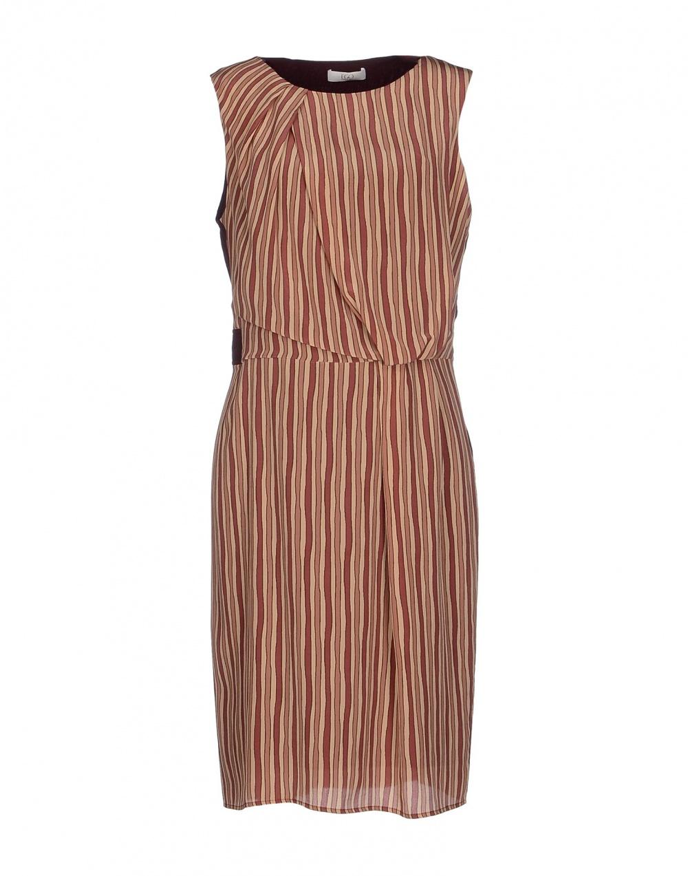 Шелковое платье E_GO' SONIA DE NISCO 48