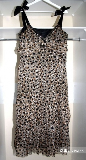 Вечернее платье Garize. 100% Натуральный шелк.  48 - 50р.