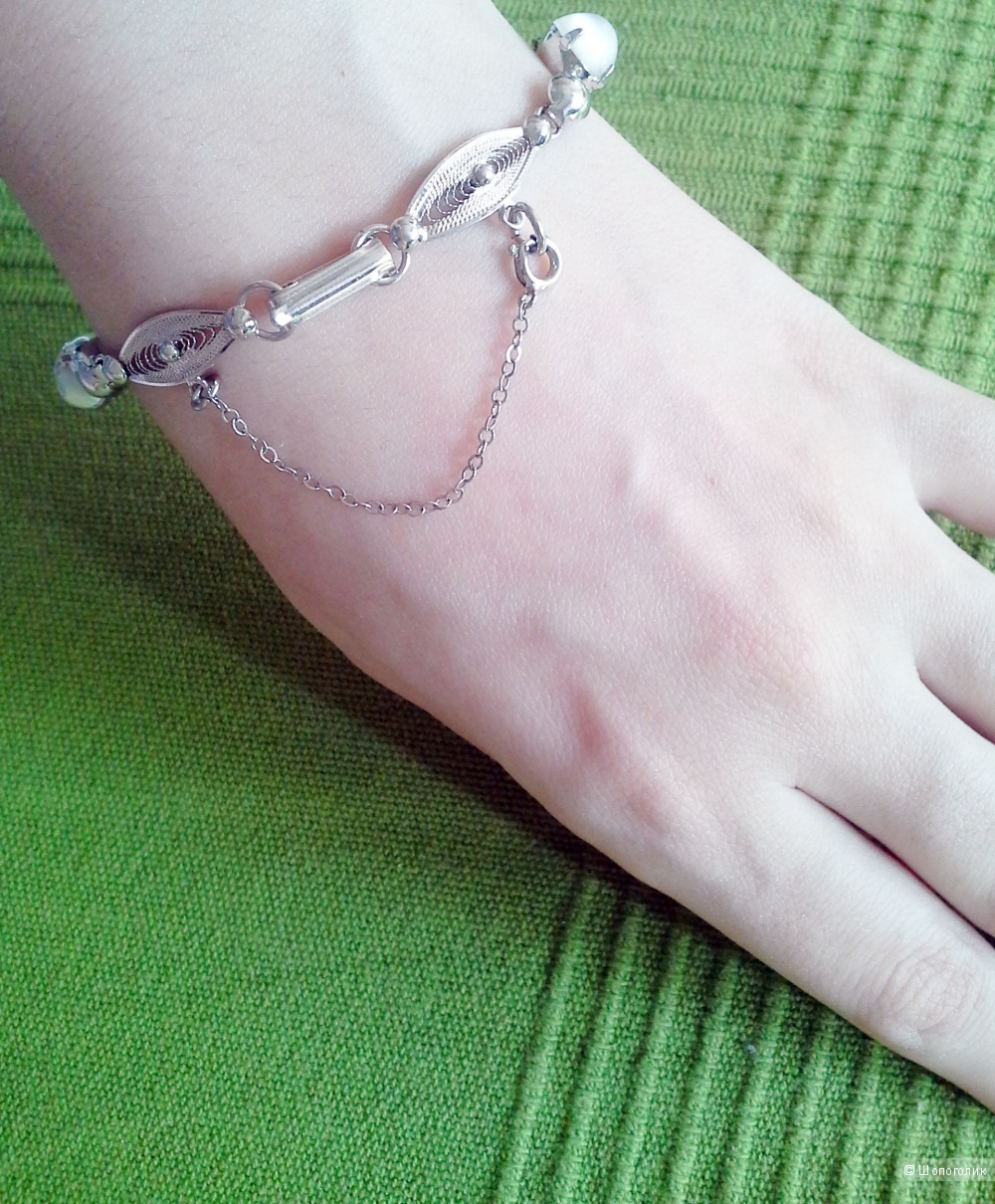 Винтажный серебряный браслет SORRENTO Sterling с Ebay