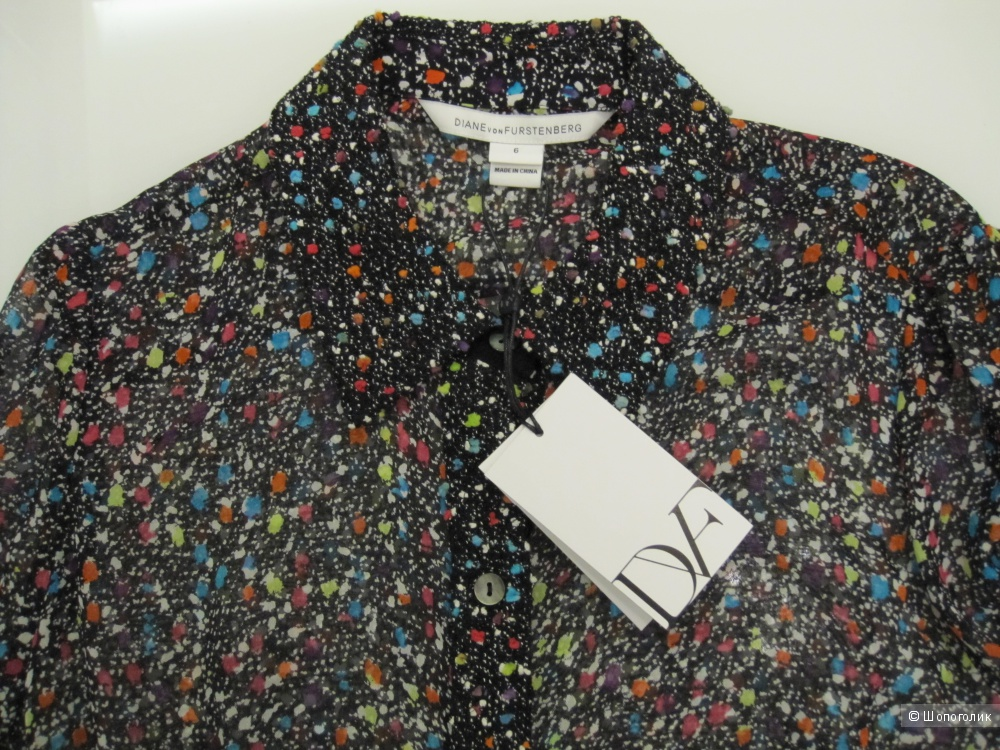 Блузка DIANE VON FURSTENBERG 44 (Российский размер)  дизайнер:6 (US)