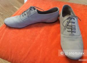 Туфли-ботинки на шнурках Massimo Dutti р.40