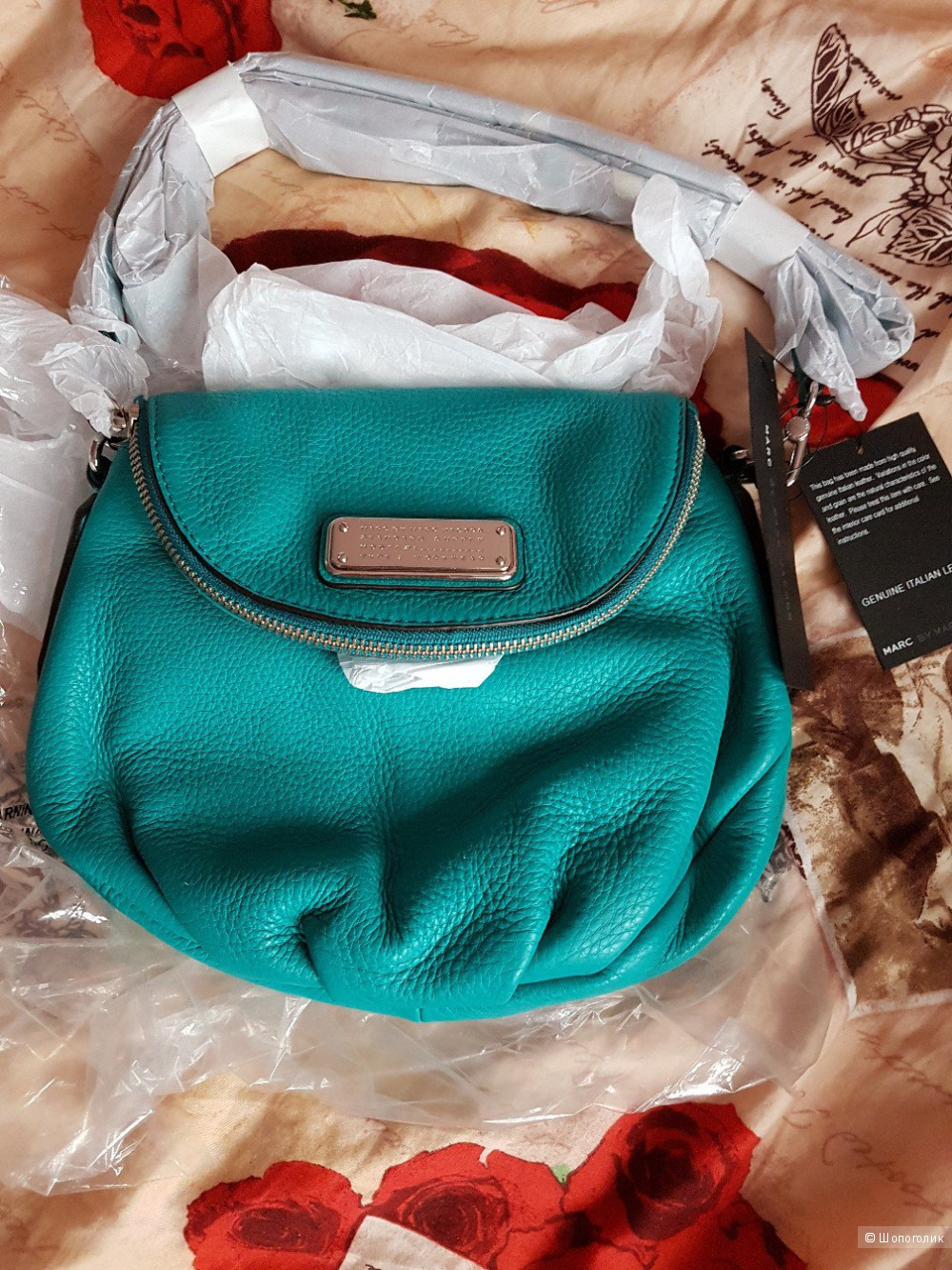 Новая кожаная сумка  Marc by Marc Jacobs Natasha Mini Leather Crossbody