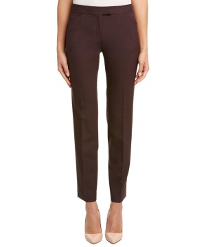 Классические брюки Lafayette 148 New York 'Irving' Stretch Wool Pants