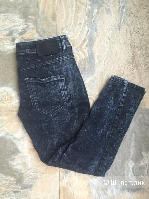 Черные джинсы-бойфренды diesel black gold