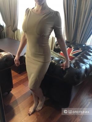 Бежевое платье Dolce&Gabbana