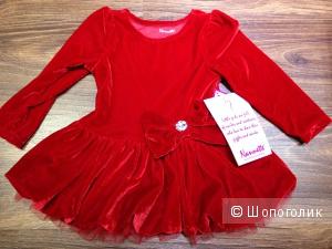 NANNETTE платье и леггинсы для девочки на 2 года. Новые