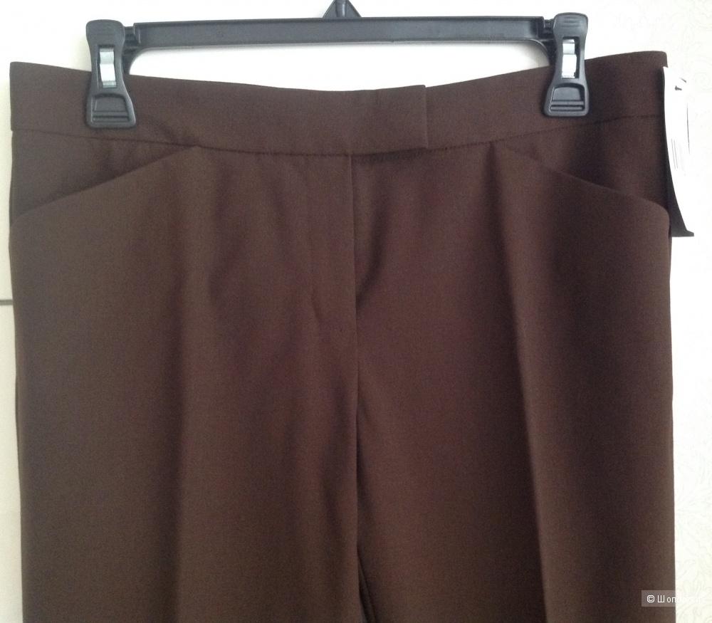 Классические брюки Lafayette 148 New York 'Irving' Stretch Wool Pants