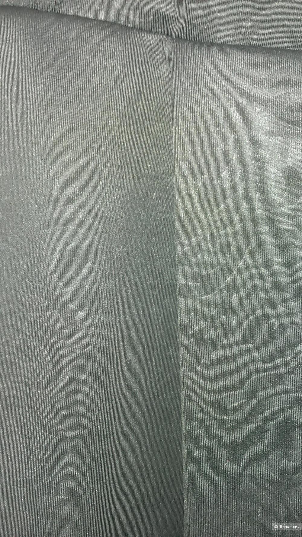 Расклешенная юбка цвета графит