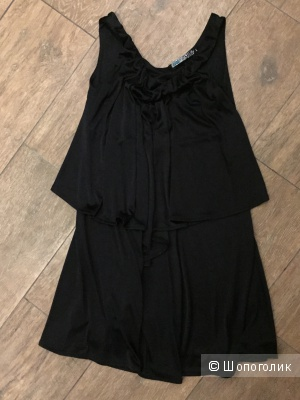 Платье черно S-L