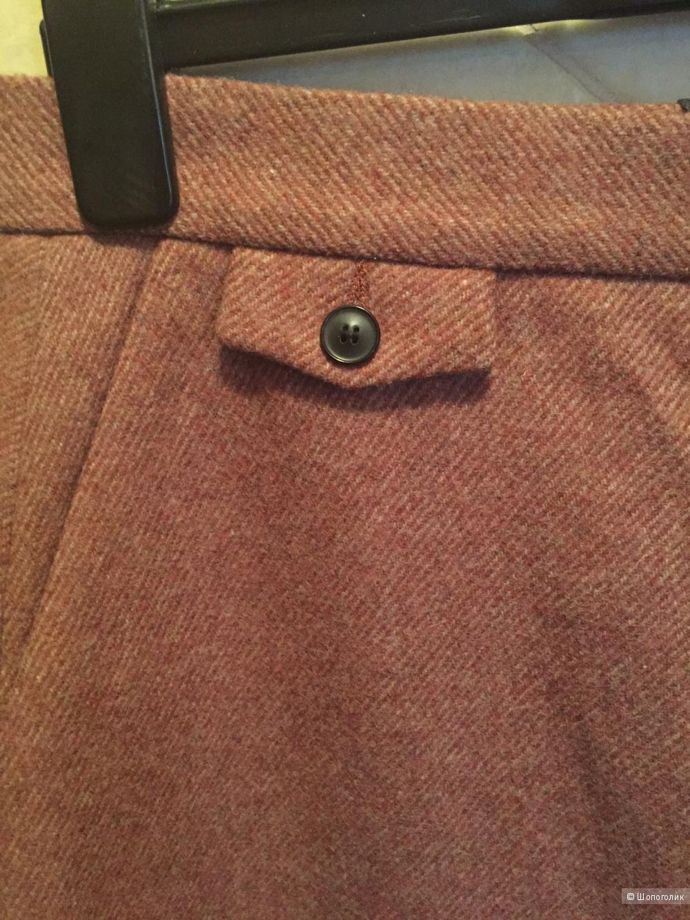 Шерстяная юбка миди от Mauro Grifoni 44IT