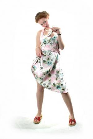 Платье летнее с цветами