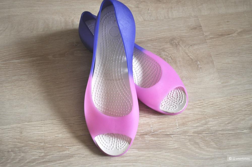 Резиновые балетки, 24,5 см по стельке
