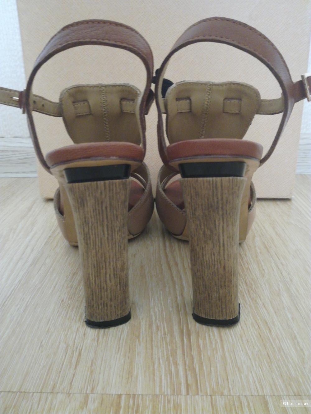 Босоножки кожаные Lola Cruz 36-37 размер