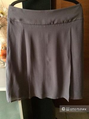 Шелковая юбка Re Vera, S