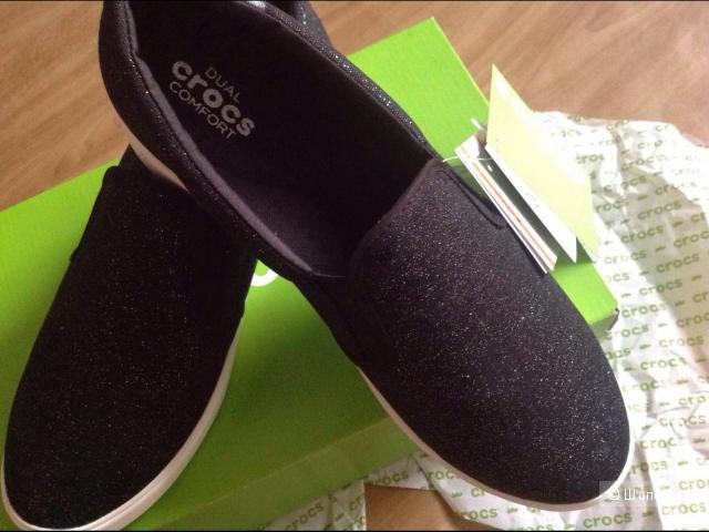 Новые слипоны Crocs, 40 размер