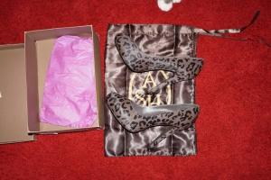 Продаю туфли ASH, размер 40, анималистический принт, ворс пони, новые
