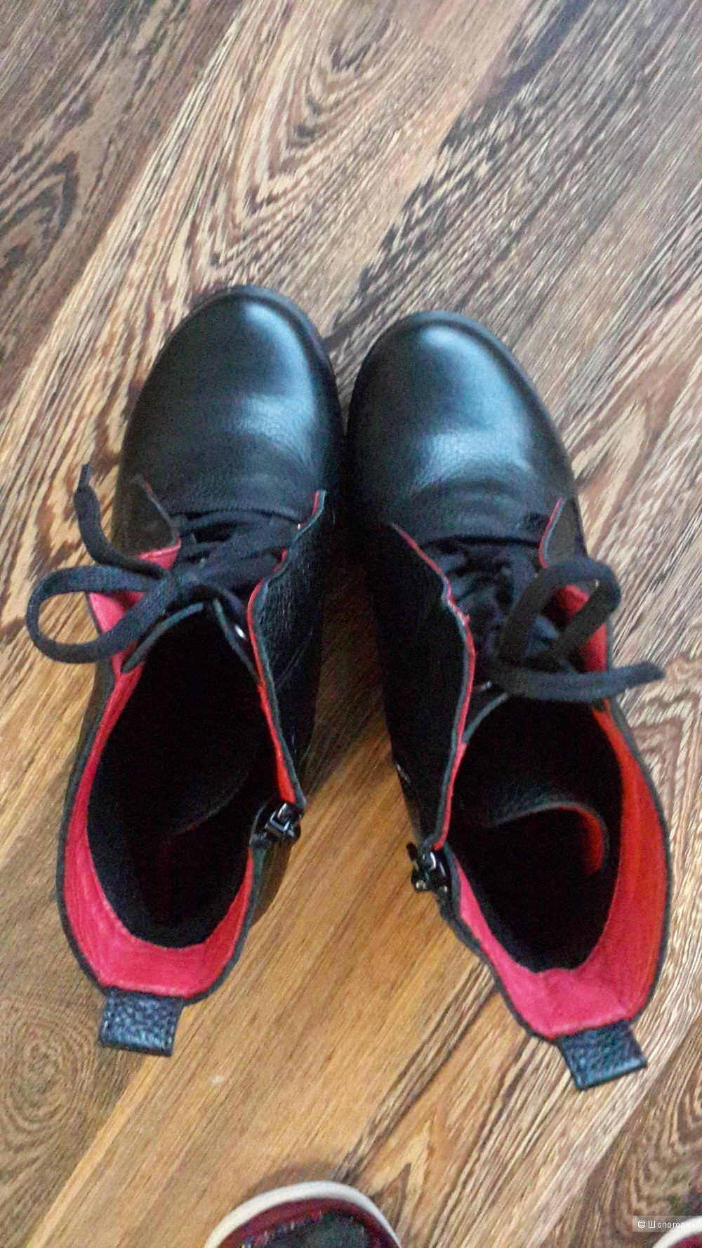 Ботинки Mabu чёрные 37 размера