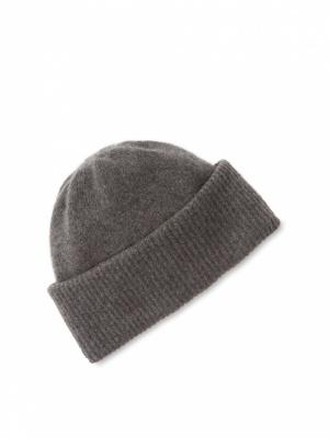 Кашемировая мужская шапка Portolano Cashmere Cuffed Skull Beanie