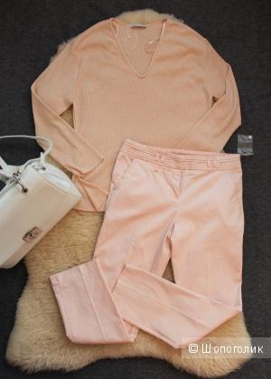 Новые розовые брюки р-р 42-44