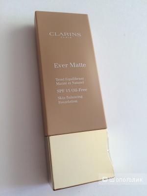 Clarins Ever Matte Skin Balancing Foundation Oil-Free SPF 15 в оттенке 108 sand