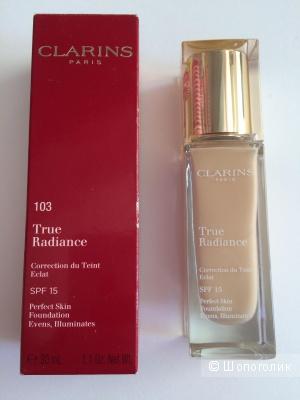 Тональный крем Clarins True Radiance с легкой тающей текстурой Тон 103