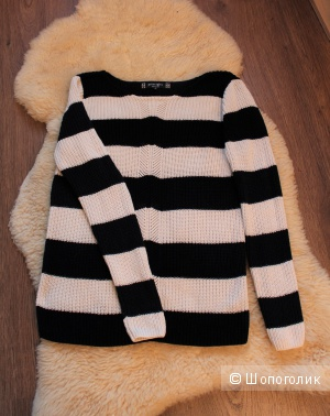 Хлопковый свитер 42-44